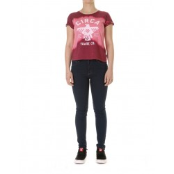 VALOR TEE GIRLS CHERRY